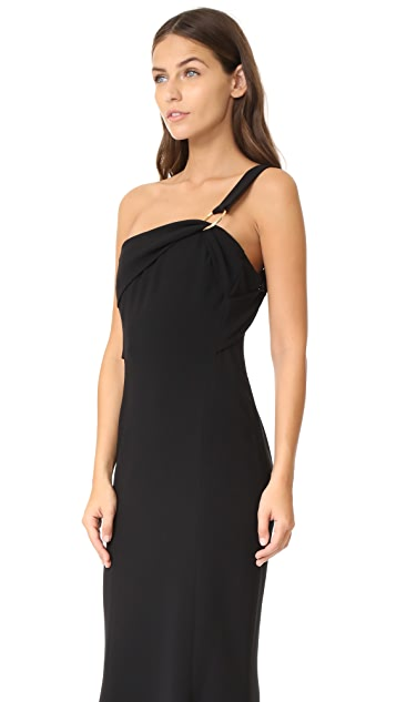 Diane von Furstenberg One Shoulder Fluid Gown