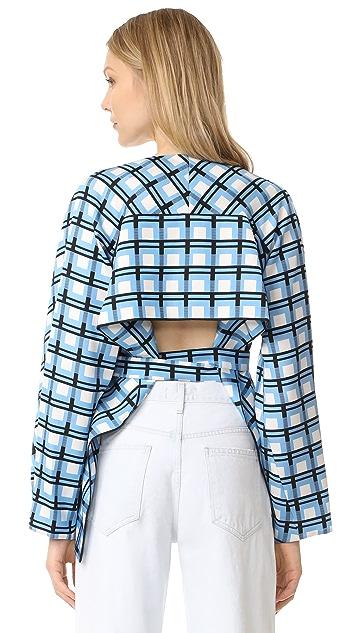 Diane von Furstenberg Wrap Front Jacket