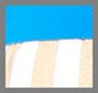 White/Gold/Turquoise