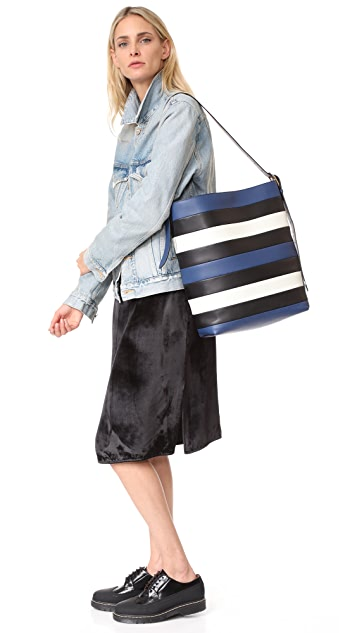 Diane von Furstenberg Origami Bucket Bag