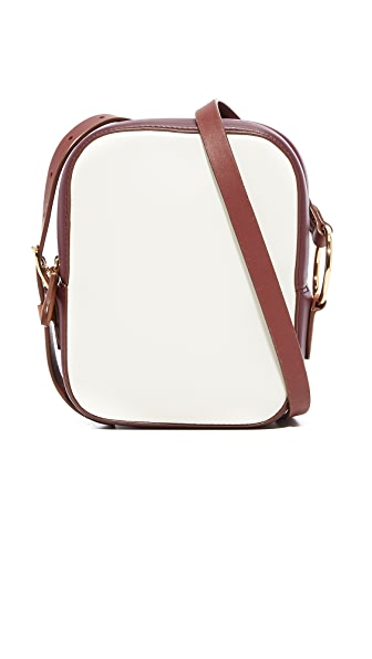 Diane von Furstenberg Camera Bag - Ivory/Bordeaux