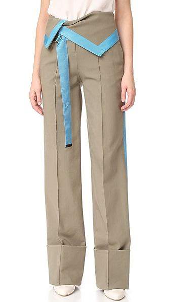 Diane von Furstenberg Широкие брюки с высокой талией
