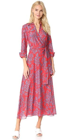 Diane von Furstenberg Callow Beach Wrap Dress