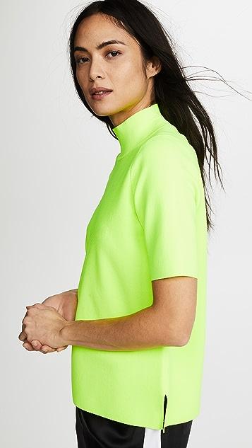 Diane von Furstenberg Mock Neck Pullover