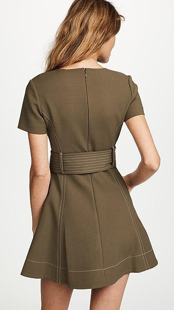 Diane von Furstenberg D Ring Fit & Flare Dress