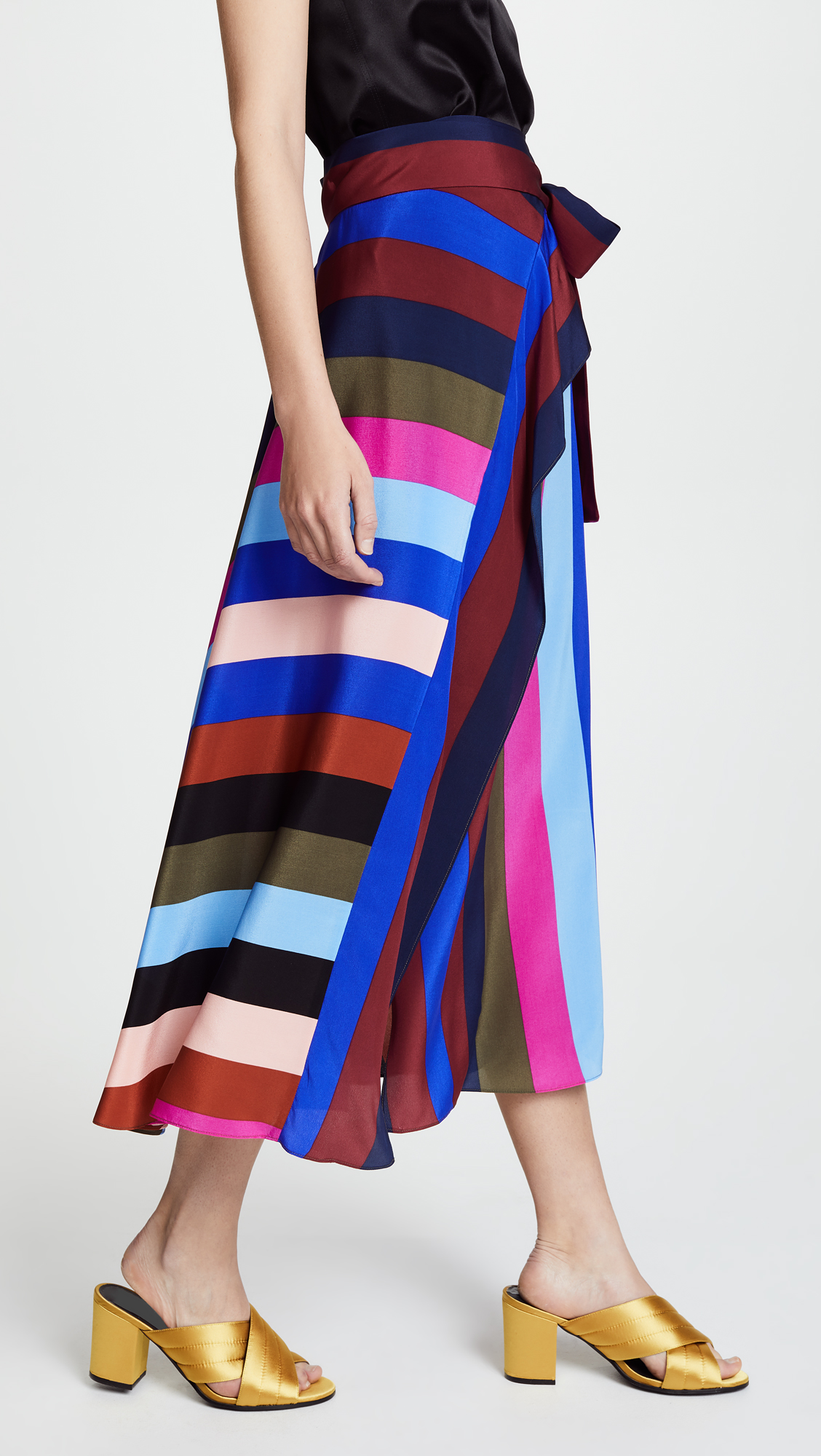 7057868e37 Diane von Furstenberg Draped Wrap Maxi Skirt   SHOPBOP
