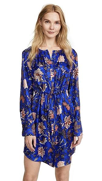 Diane von Furstenberg Cinched Waist Shirtdress