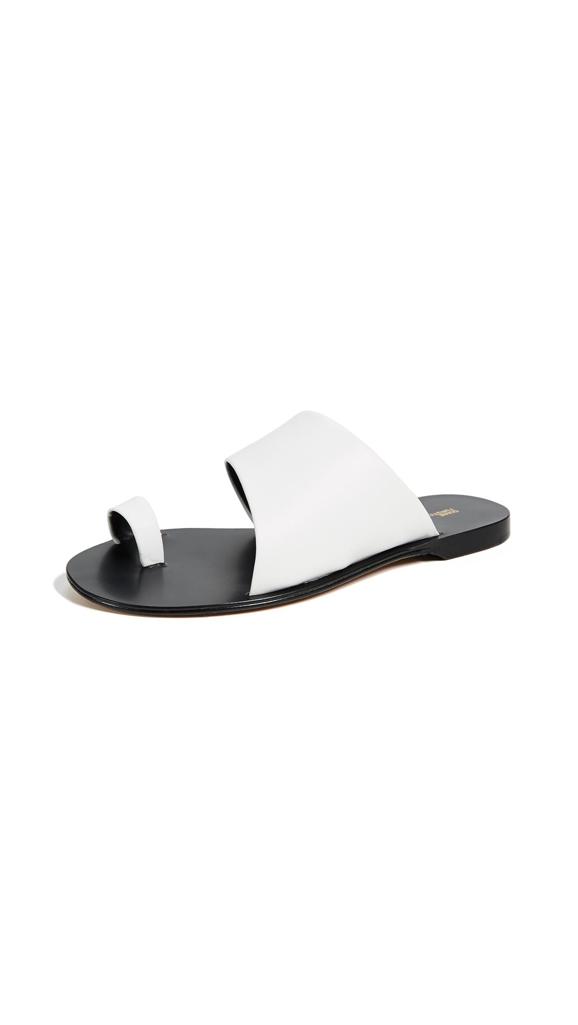 Diane von Furstenberg Brittany Slides - White