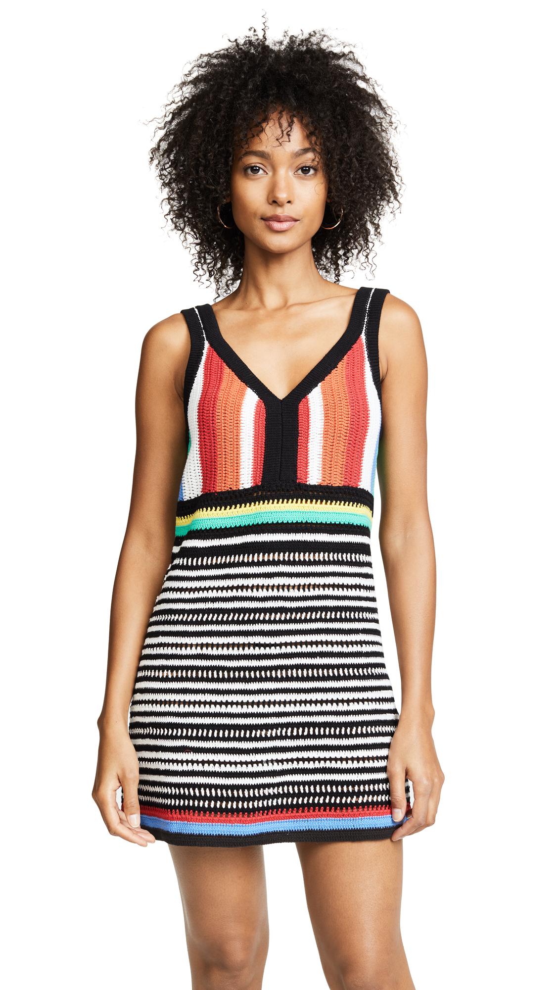 Diane von Furstenberg Crochet Beach Dress