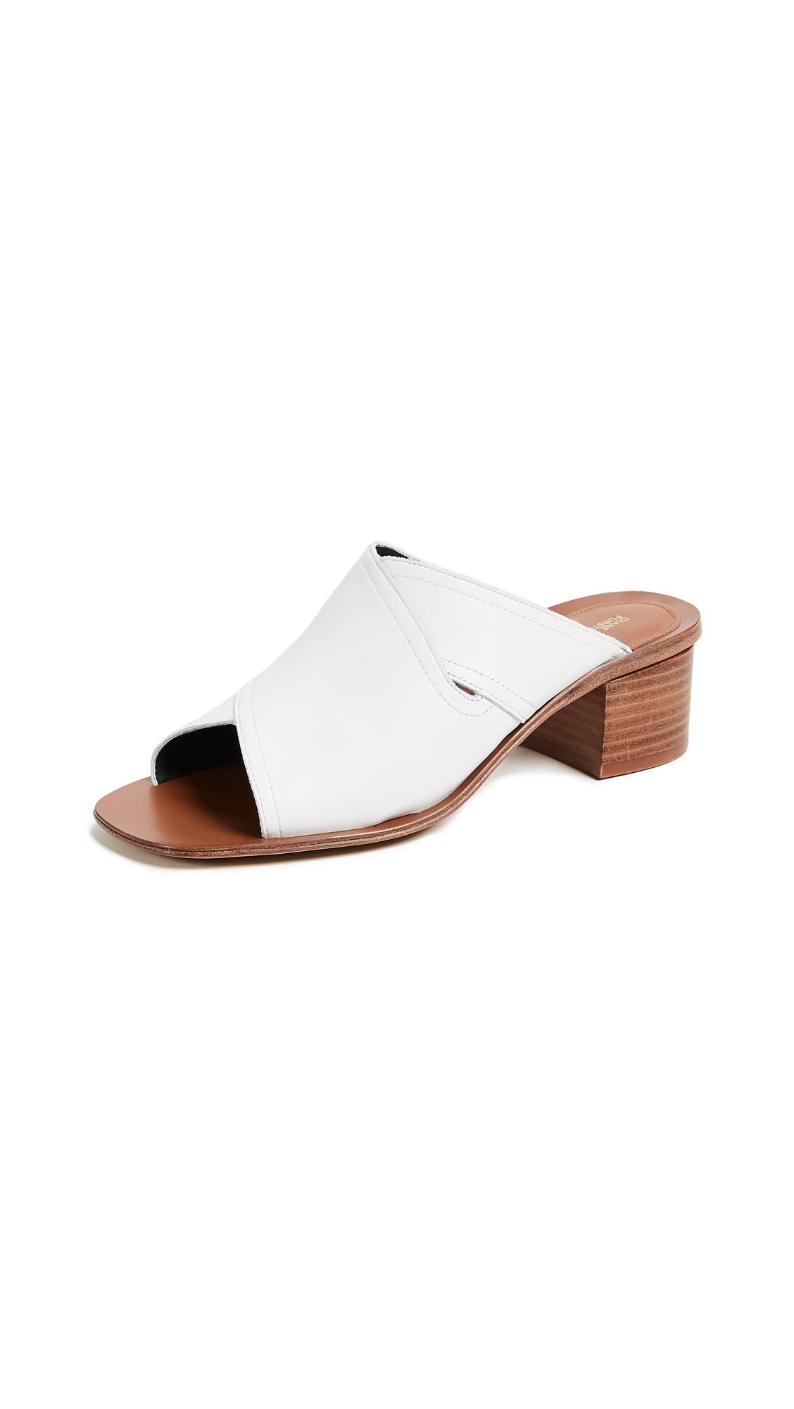Diane von Furstenberg Hazel City Slides - White
