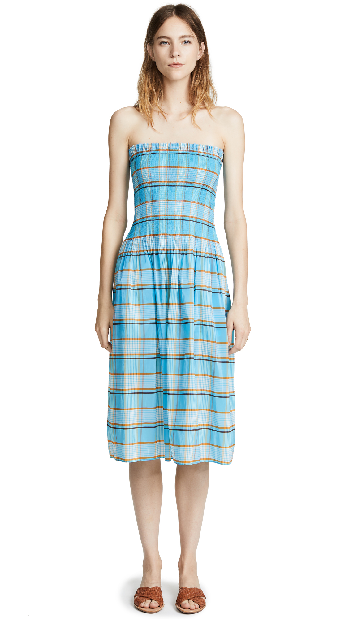 Horizon checked skirt