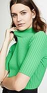 Diane von Furstenberg Gauge Mock Neck Sweater