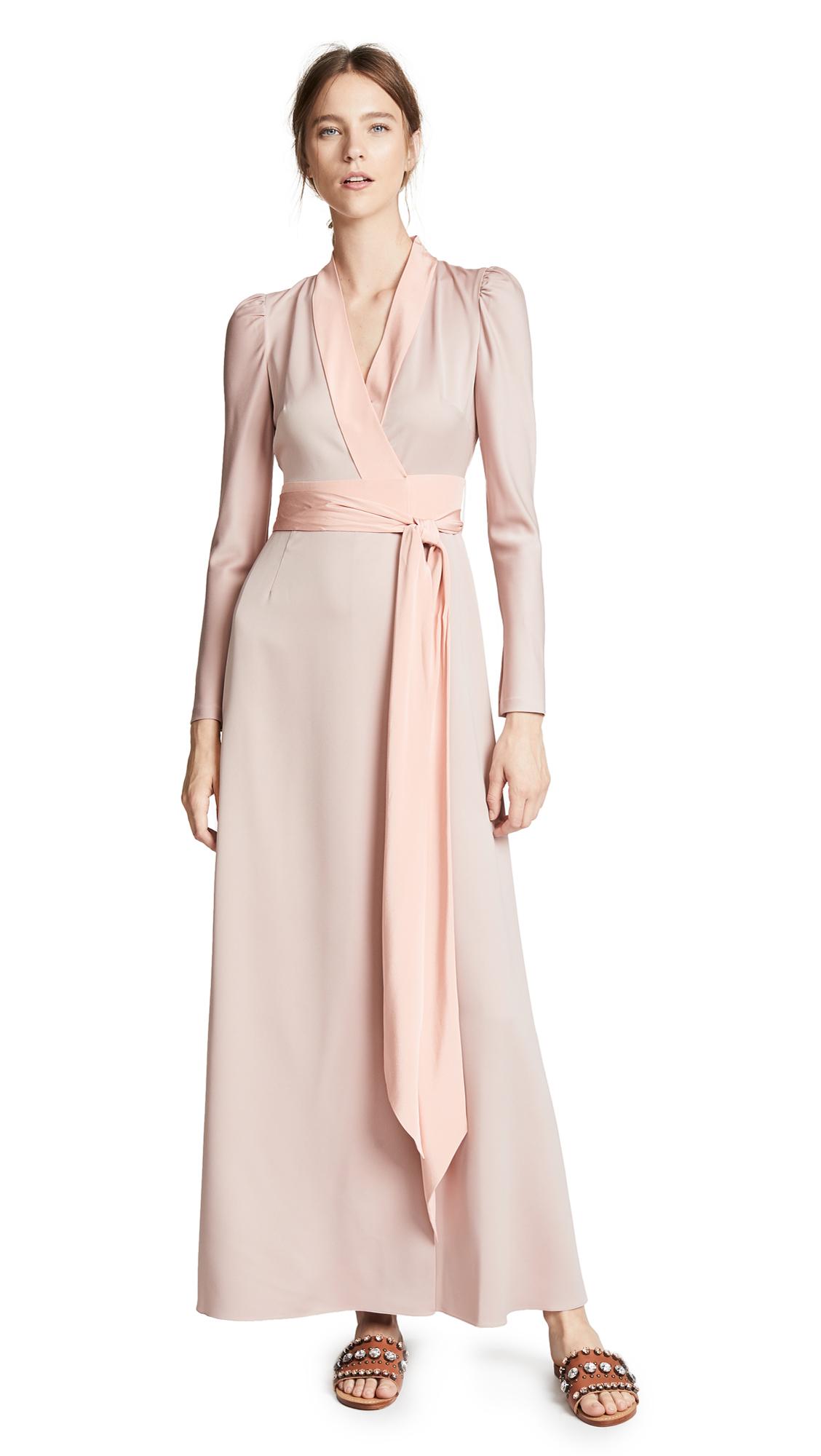 Diane von Furstenberg Maxi Wrap Dress