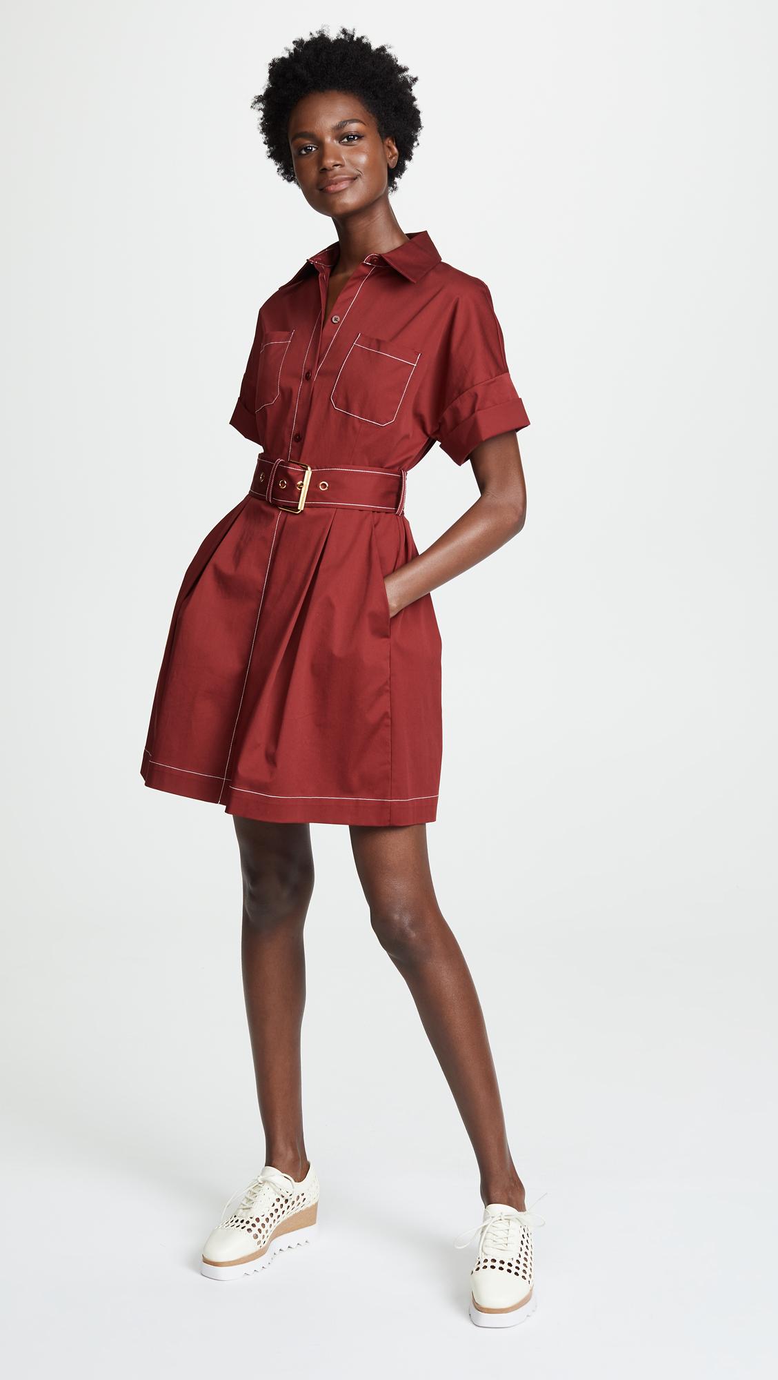 Diane Von Furstenberg Belted Shirt Dress Shopbop