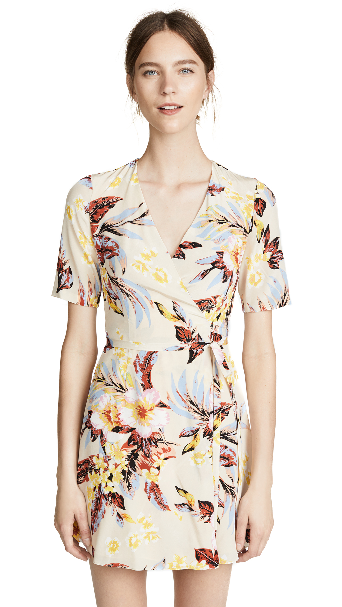 Diane von Furstenberg New Savilla Wrap Dress