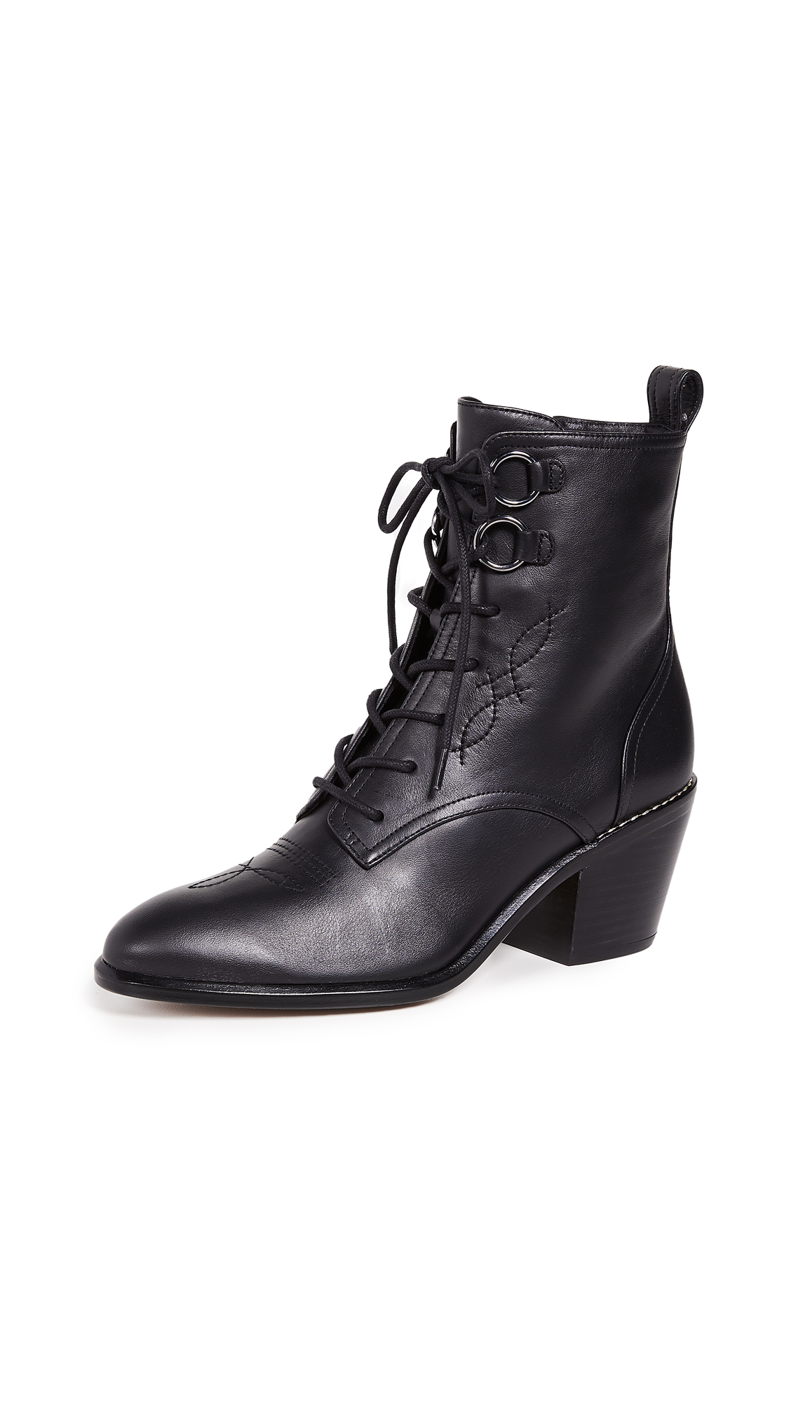 Diane von Furstenberg Dakota Boots - Black