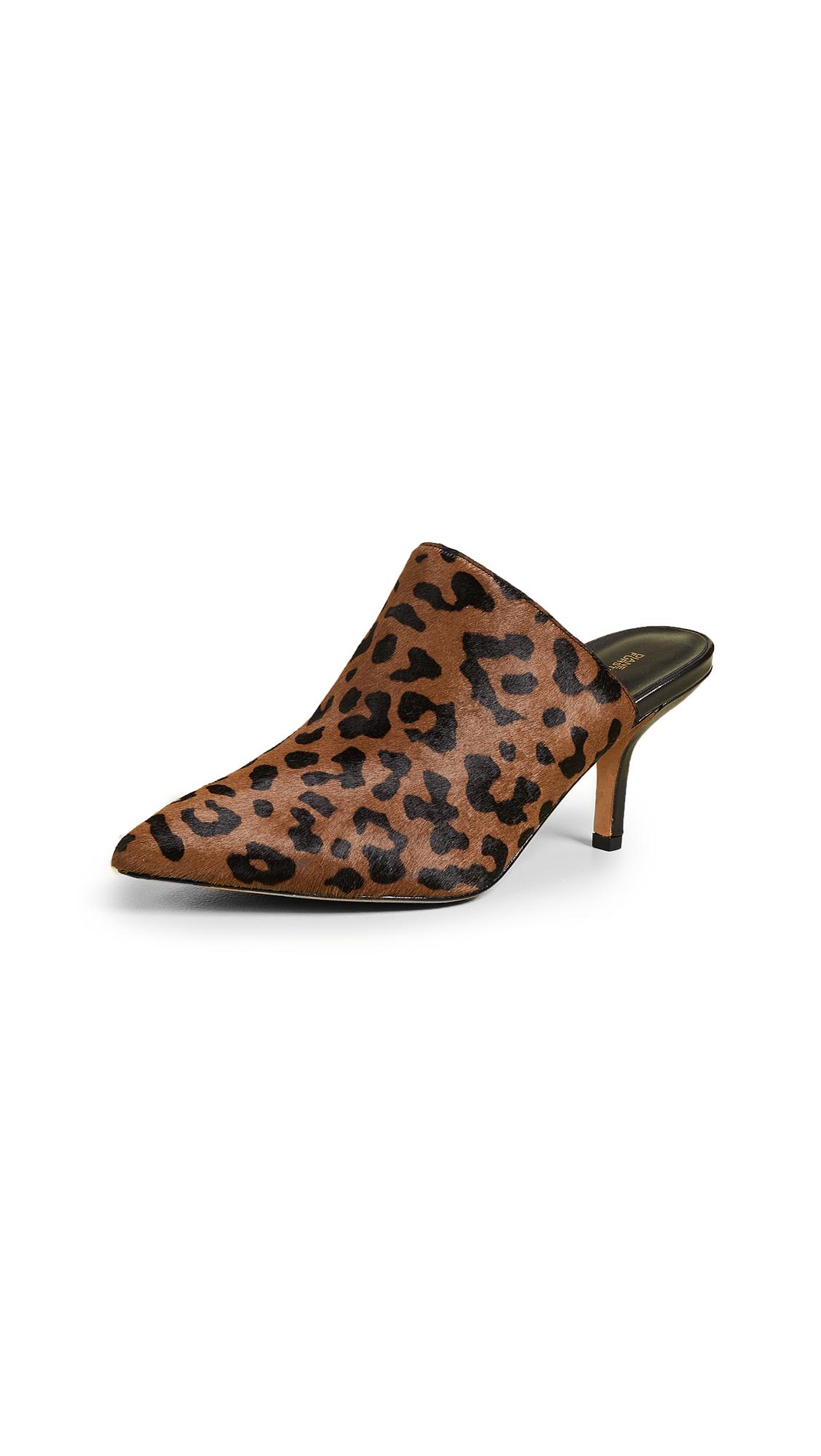 Diane von Furstenberg Mikaila Mules - Leopard
