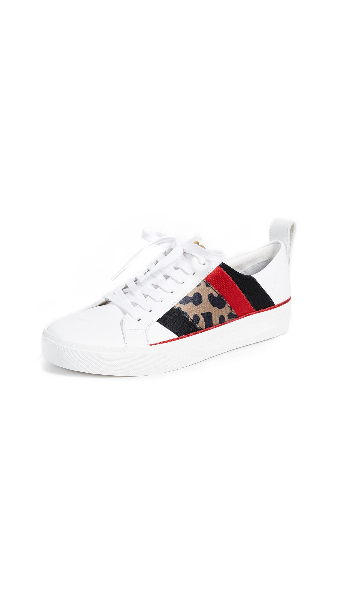 Diane von Furstenberg Tess Sneakers - Leopard Multi