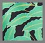 миниатюрный черный принт в виде пальм Windsor