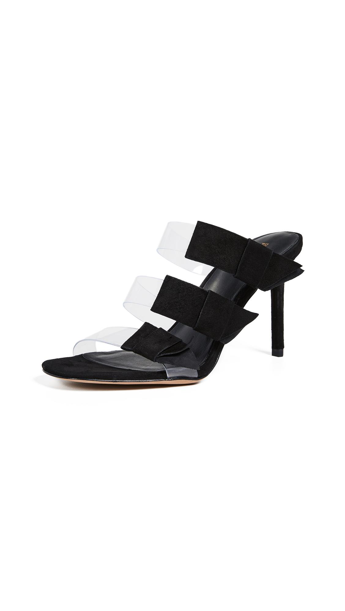 Diane von Furstenberg Amari 2 Sandals - Black