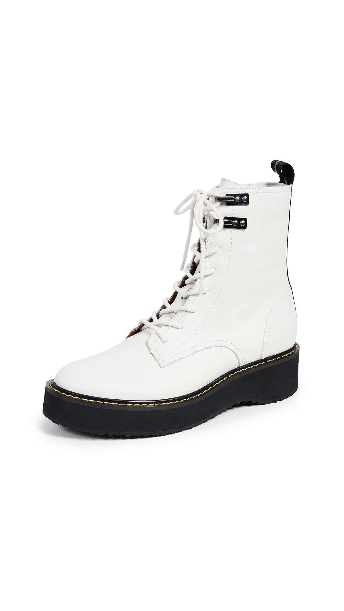 Diane von Furstenberg In Charge Boots - White