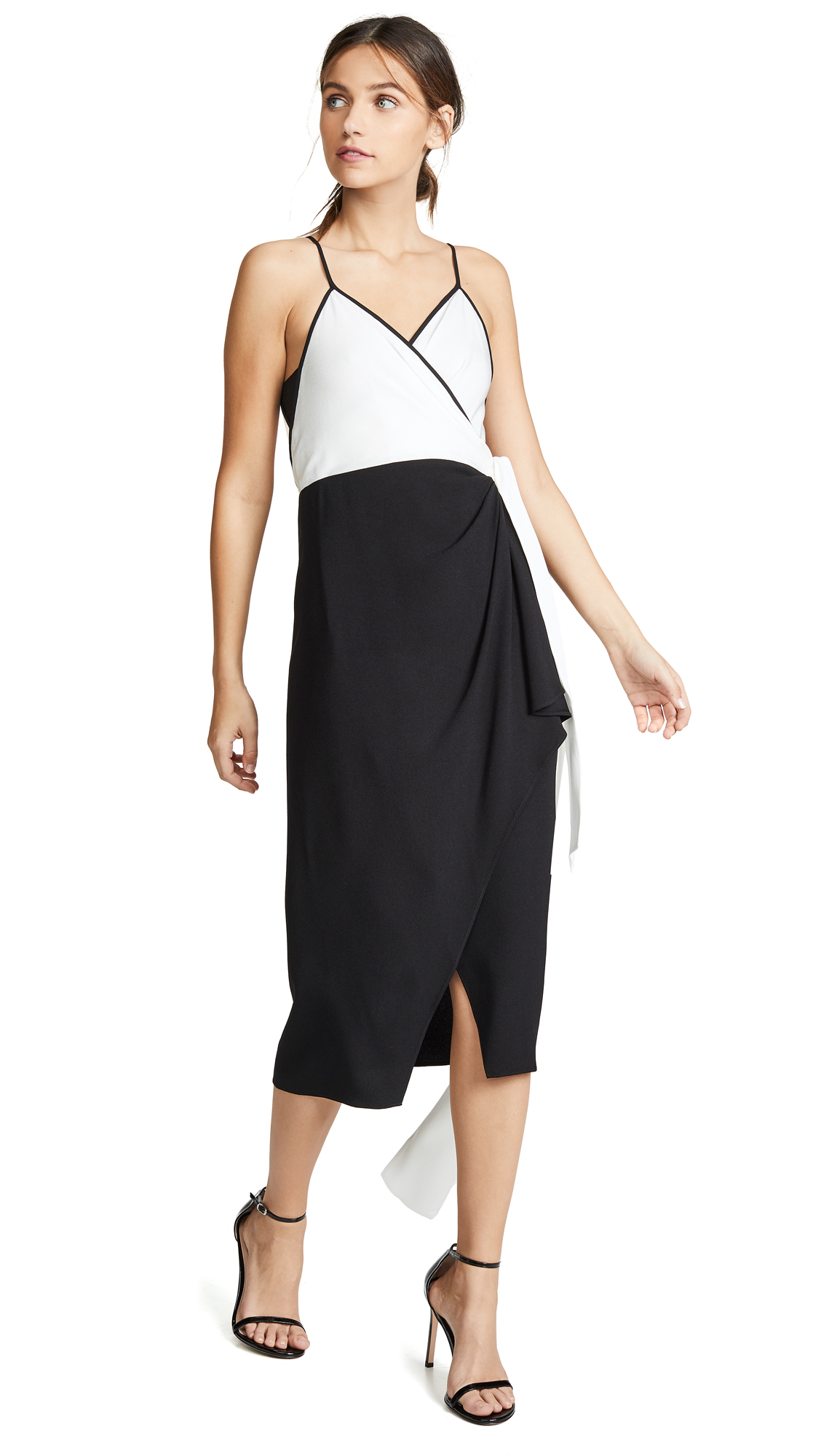 Diane von Furstenberg Avila Dress - Ivory/Black