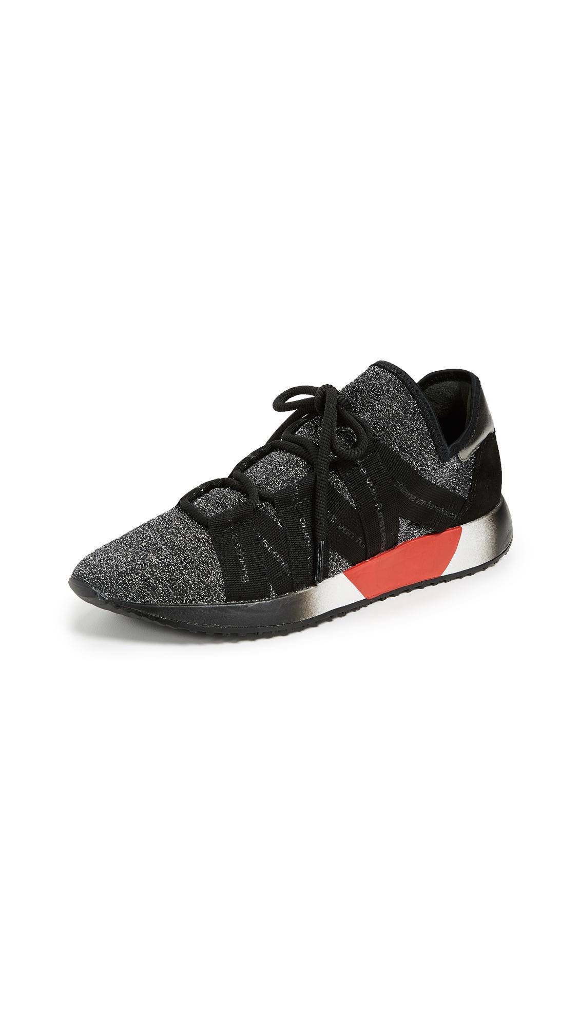 Diane von Furstenberg Pandora Sneakers - Black