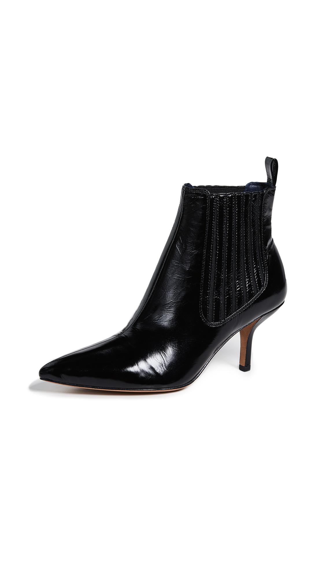 Diane von Furstenberg Mollo Booties - Black