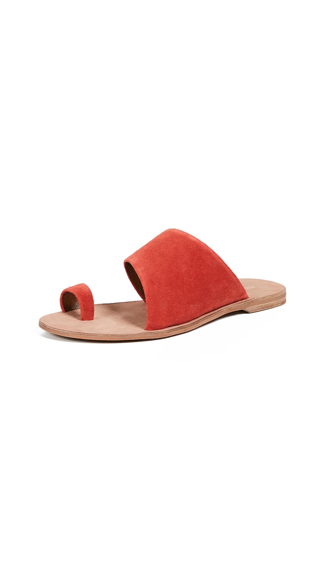 Diane von Furstenberg Brittany Slides - Red