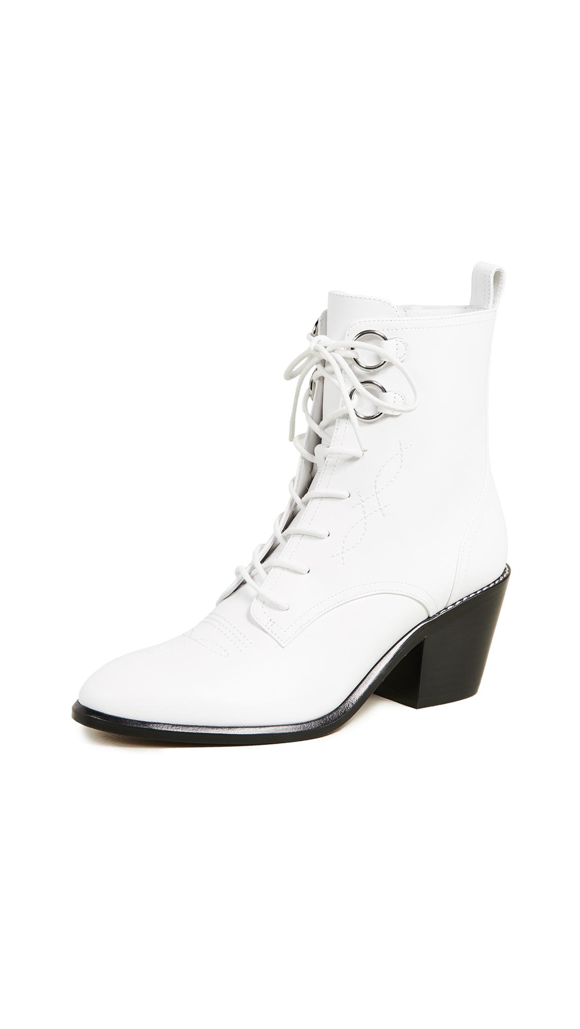 Diane von Furstenberg Dakota Boots - White