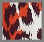 Ярко-оранжевый с леопардовым принтом
