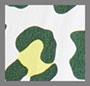 зеленовато-желтый летний с леопардовым принтом