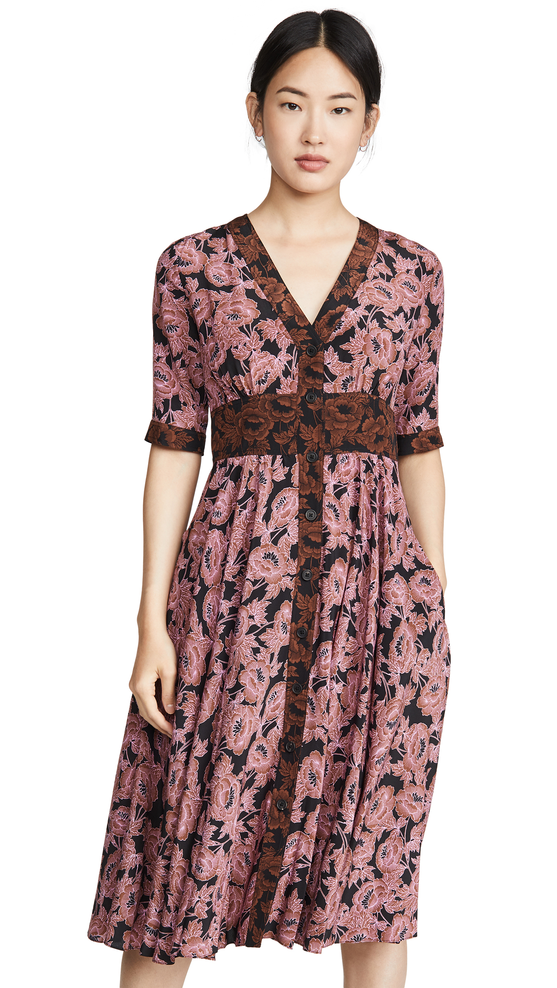 Buy Diane von Furstenberg Peony Dress online beautiful Diane von Furstenberg Clothing, Dresses