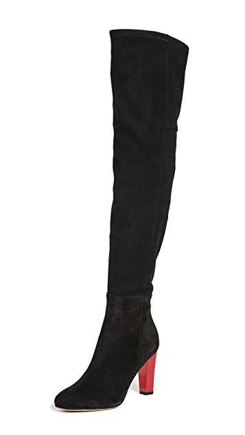 Diane von Furstenberg Deana Over the Knee Boots