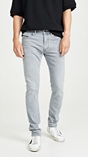Diesel Thommer Slim Denim in Grey Wash
