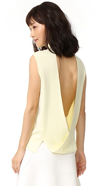 Dion Lee Loop Back Sleeveless Top