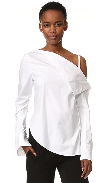 Dion Lee Рубашка с длинными рукавами