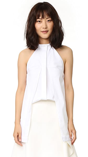 Dion Lee Sleeveless Shirt - White