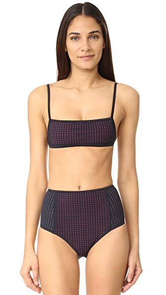 Dion Lee Overlay Bandeau Top