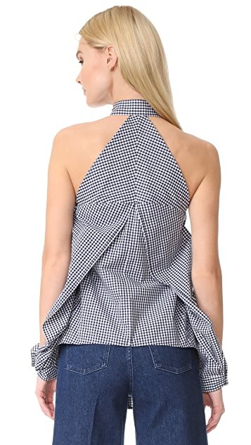 Dion Lee Sleeve Release Shirt