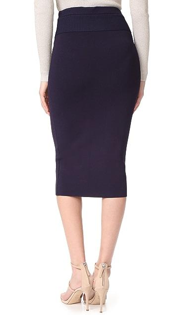 Dion Lee Rib Pencil Skirt