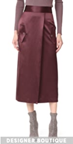 Utility Silk Skirt Dion Lee