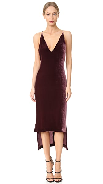 Dion Lee Silk Velvet Cami Dress dresses online sales