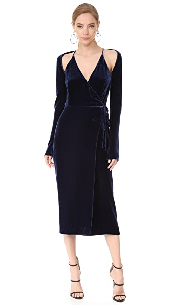 Dion Lee Velvet Contour Dress at Shopbop