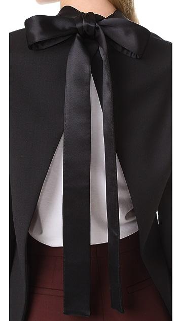 Dion Lee Lapel Tie Blazer