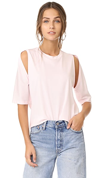 Dion Lee Utility Contour Tee In Pink