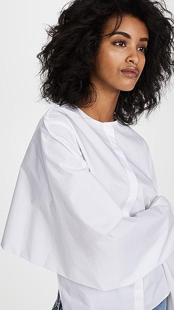 Dion Lee Loop Sleeve Shirt