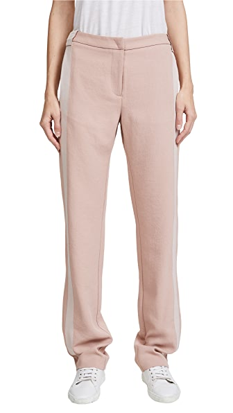 Dion Lee Whitewash Pants In Muted Pink