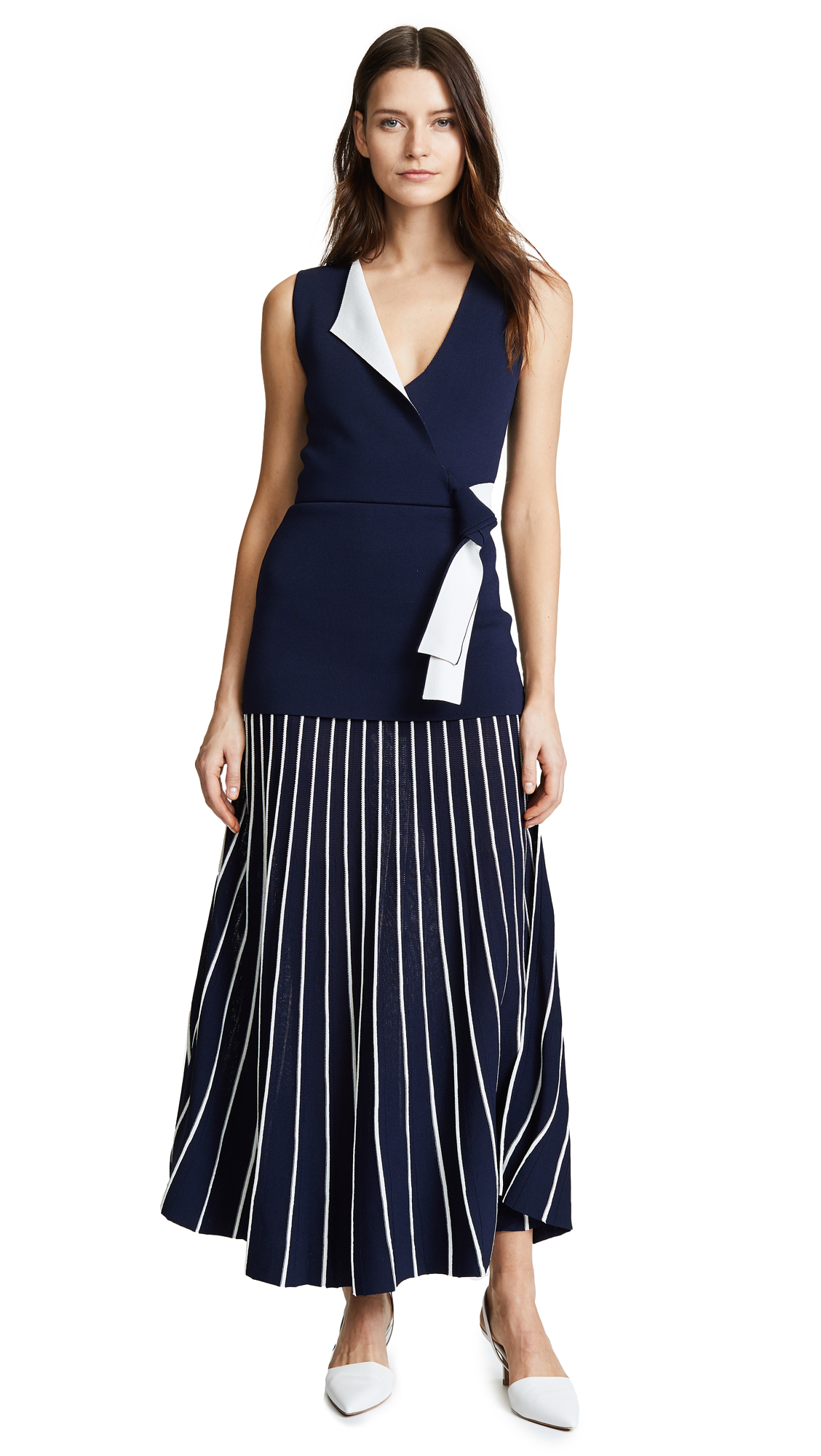 Dion Lee Density Pleat Dress