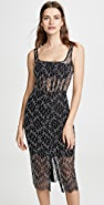 Dion Lee Vein Lace Corset Dress